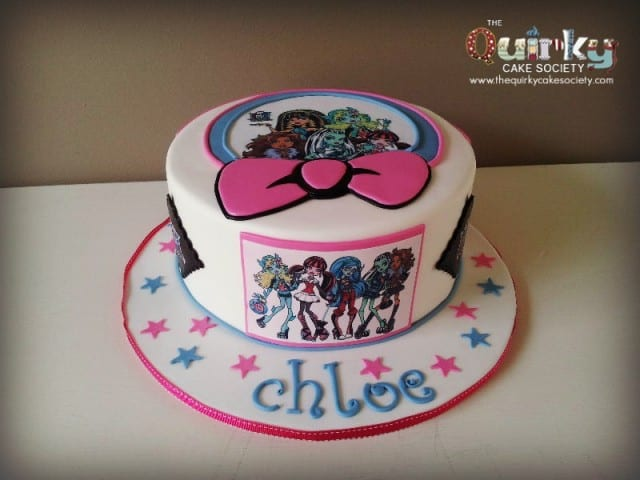 Monster High  Transfer Cake