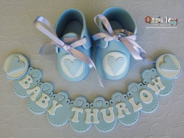 Baby Booties Topper