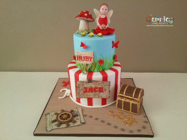 Fairy & Pirate Cake