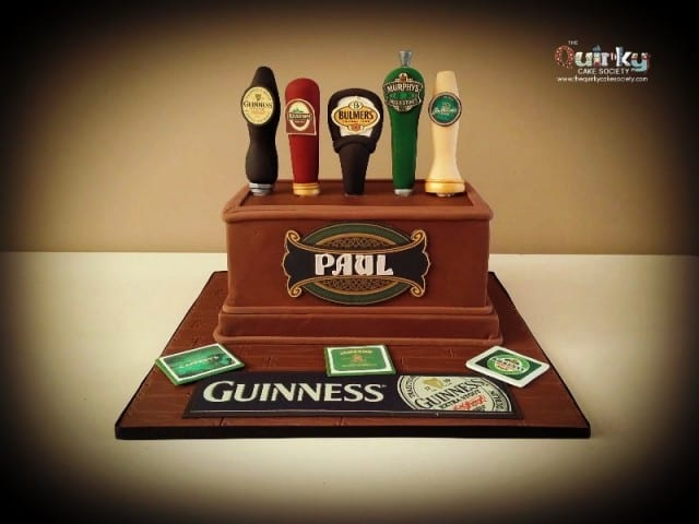 Beer Taps Cake