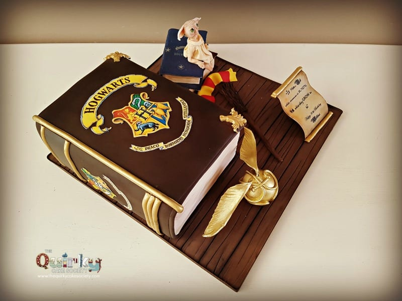 Harry Potter Cake The Quirky Cake Society