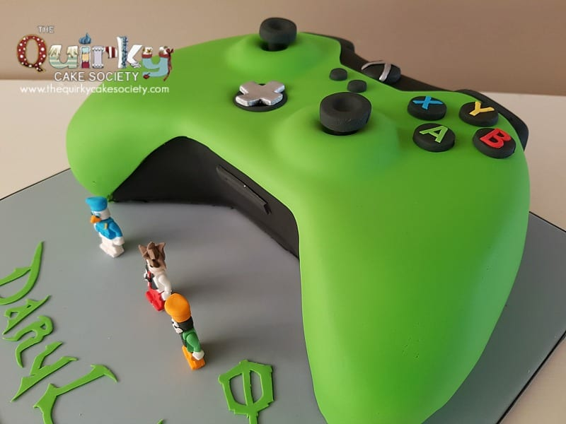 Xbox One Controller Cake The Quirky Cake Society