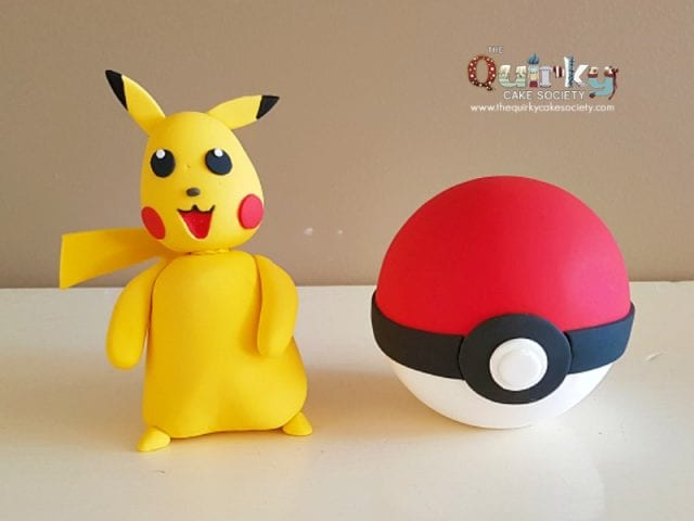 Pikachu and Pokemon Ball Topper – Large
