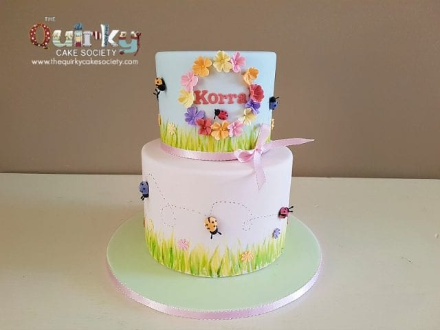 Lady Beetle Cake