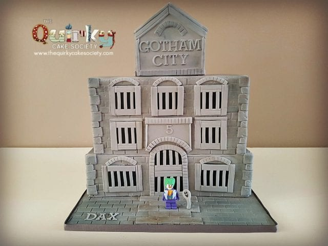 Joker Gotham City Cake