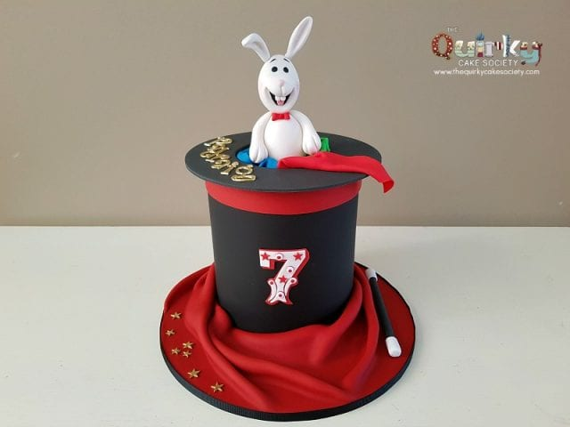Magician Hat Cake