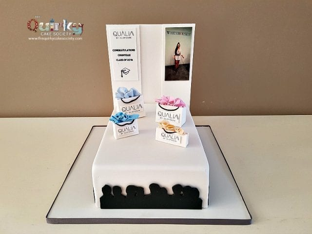 Fashion Runway Cake