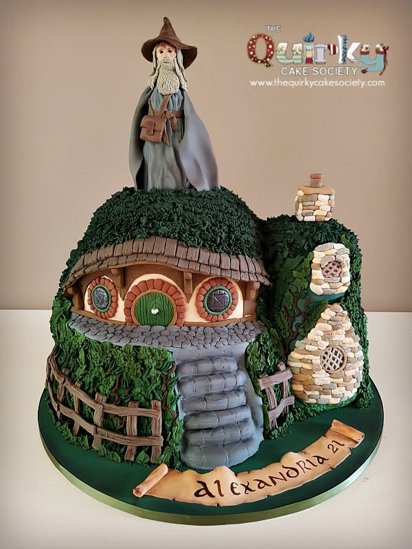 Lotr Hobbit House Cake The Quirky Cake Society