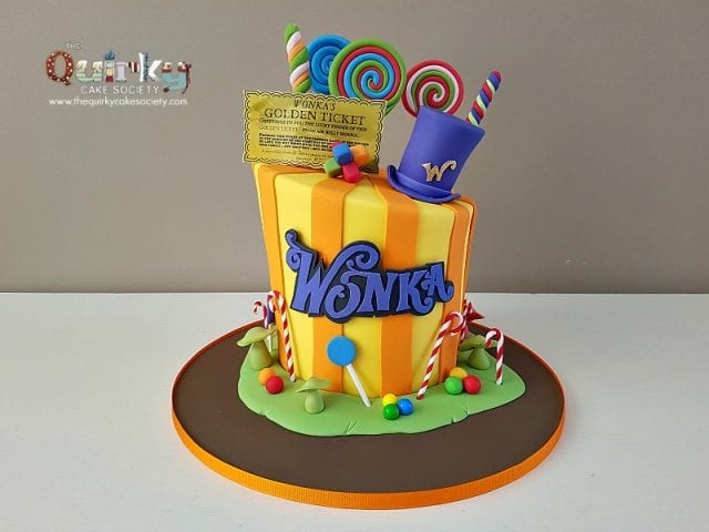 Willy Wonka Cake