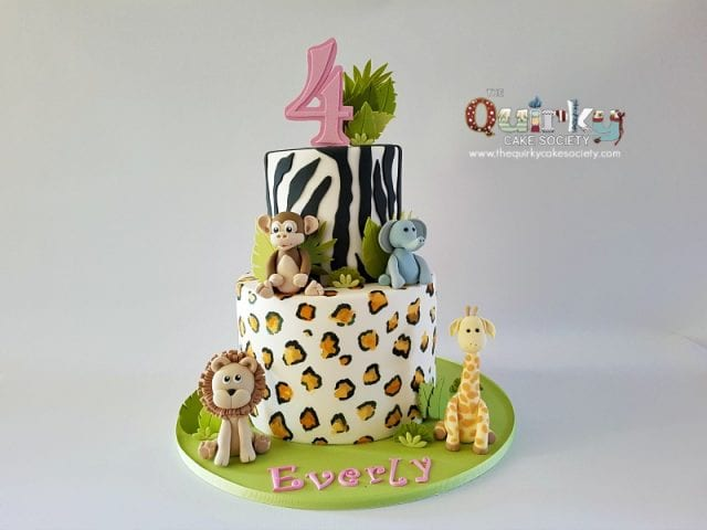Safari Jungle Animal cake