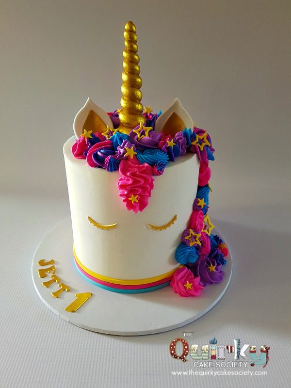 Unicorn Cake The Quirky Cake Society