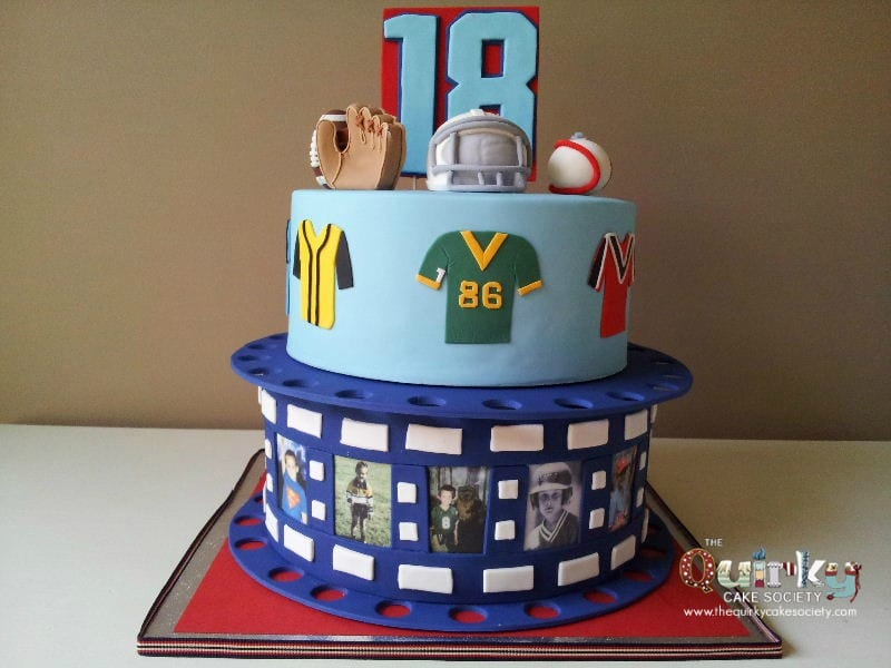 Sports Cake The Quirky Cake Society
