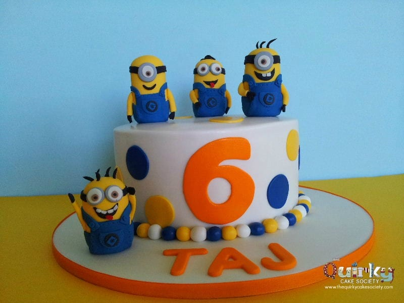 Despicable Me Baby Shower Cake