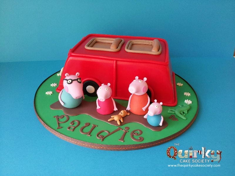 Peppa Pig Car Cake The Quirky Cake Society