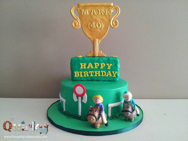 Horse Racing Cake The Quirky Cake Society