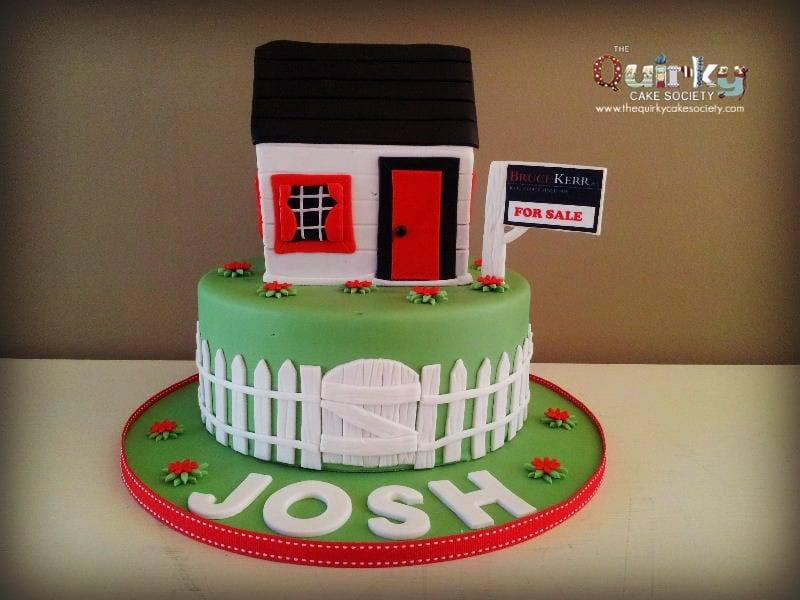 House For Sale Cake The Quirky Cake Society