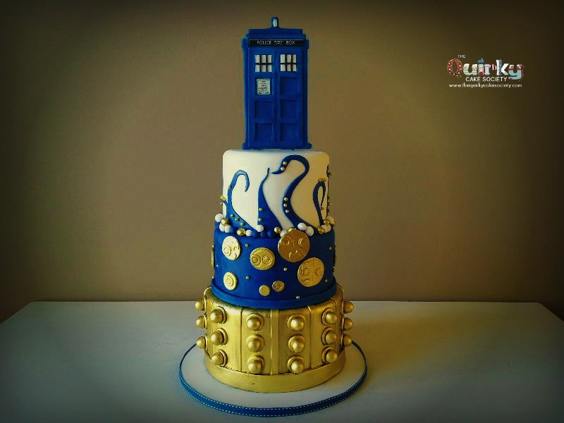 Dr Who Cake The Quirky Cake Society
