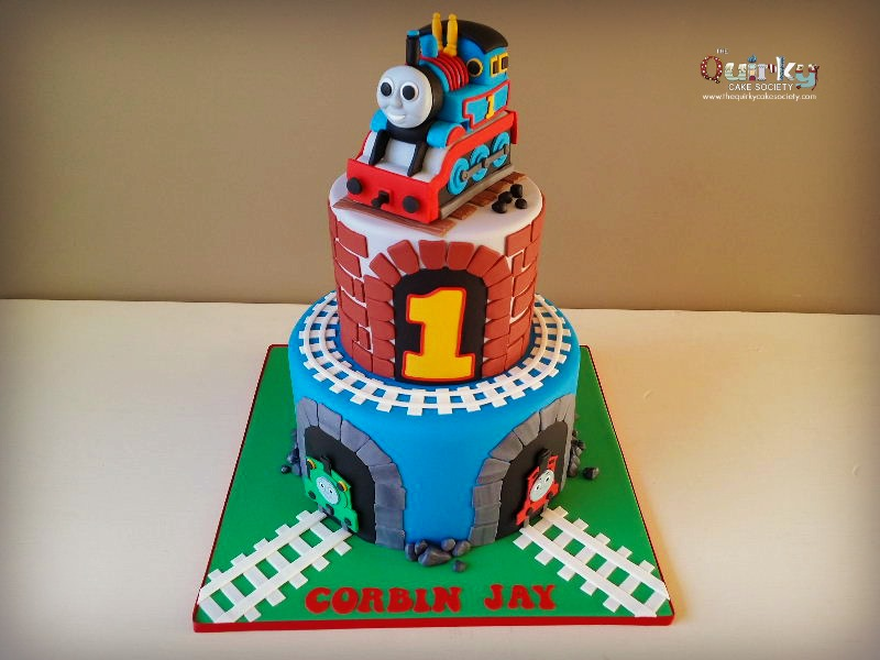 Thomas The Tank Engine Cake The Quirky Cake Society