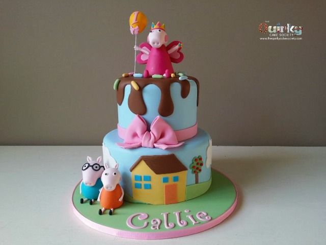 Peppa Pig Cake Archives The Quirky Cake Society