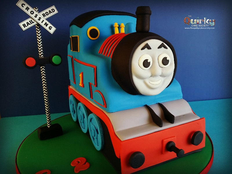 Thomas The Tank Engine 3d Cake The Quirky Cake Society
