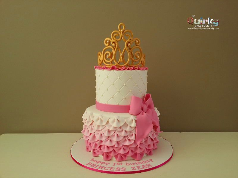 Princess Tiara Cake The Quirky Cake Society