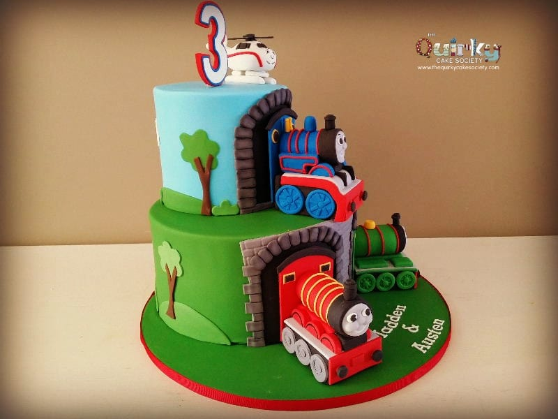 Thomas And Friends Cake The Quirky Cake Society