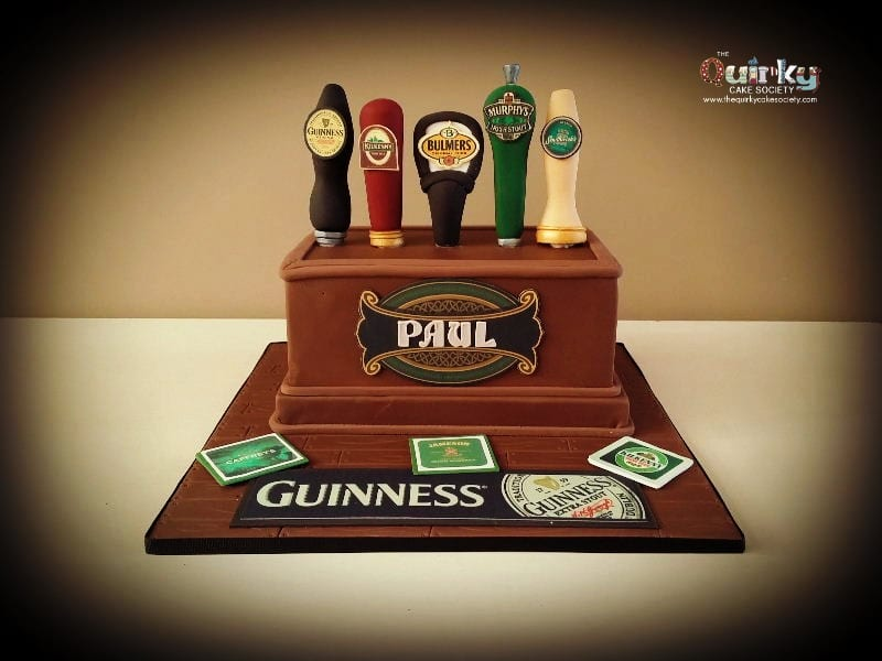 Beer Taps Cake The Quirky Cake Society