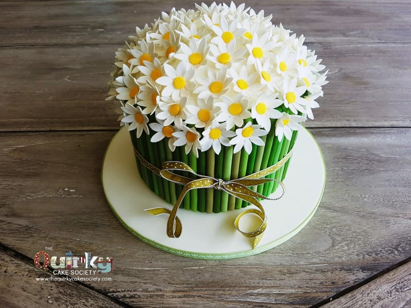 Daisy Bouquet Cake - The Quirky Cake Society