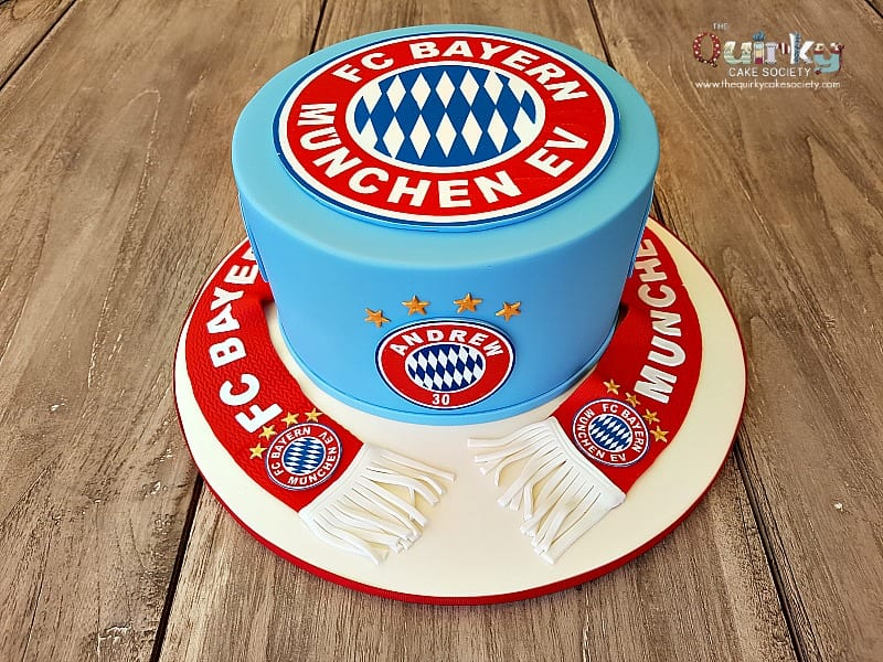 Bayern Munchen Cake The Quirky Cake Society