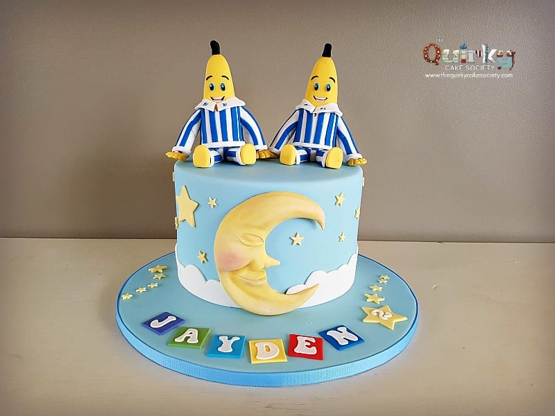 Bananas In Pyjamas And Twinkle Twinkle Little Star Cake The