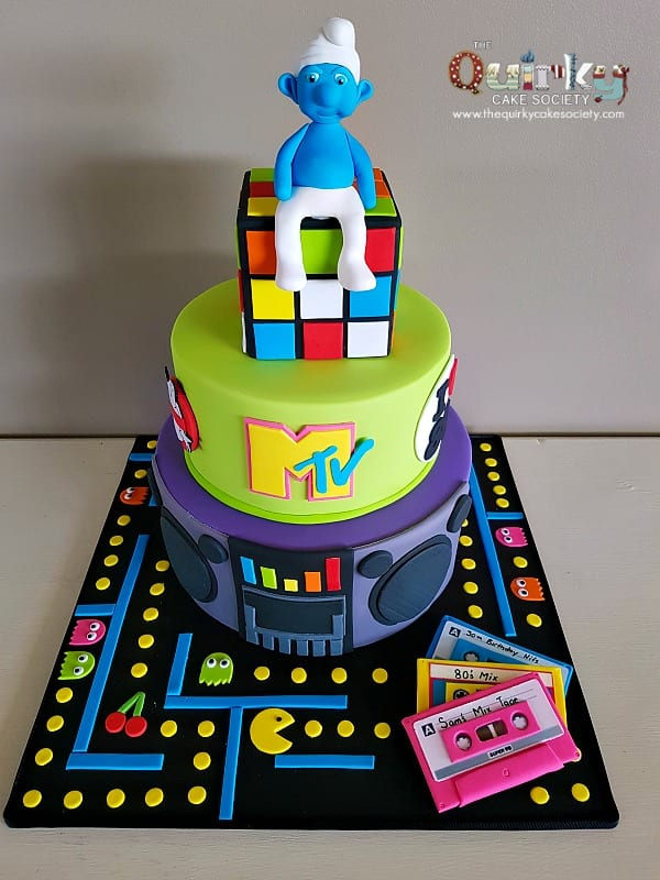 80 S Cake The Quirky Cake Society