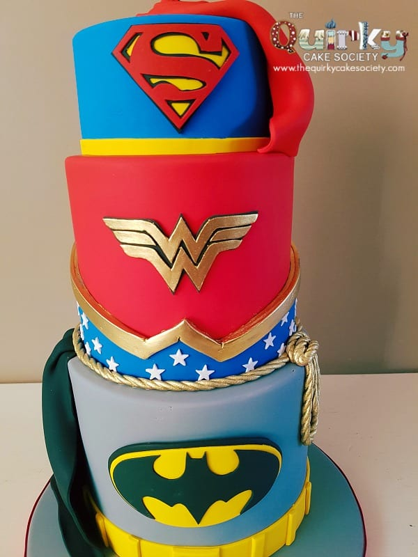 wonder woman wedding cake cake the cake society 27587