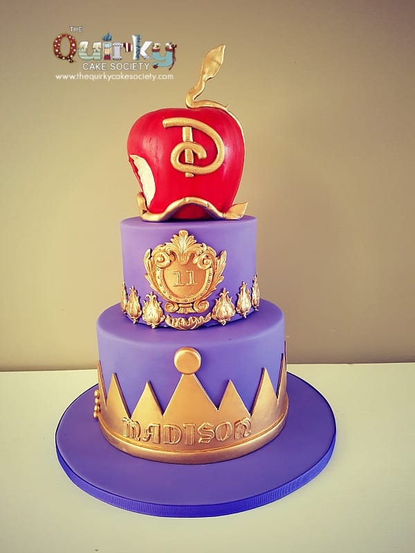 Descendants Disney Cake The Quirky Cake Society