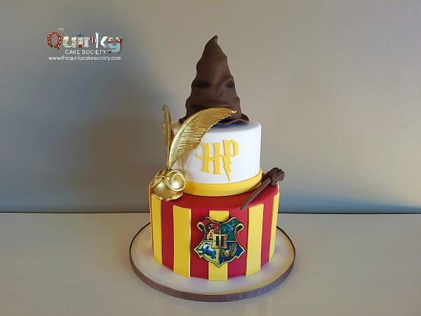 Harry Potter Snitch Cake