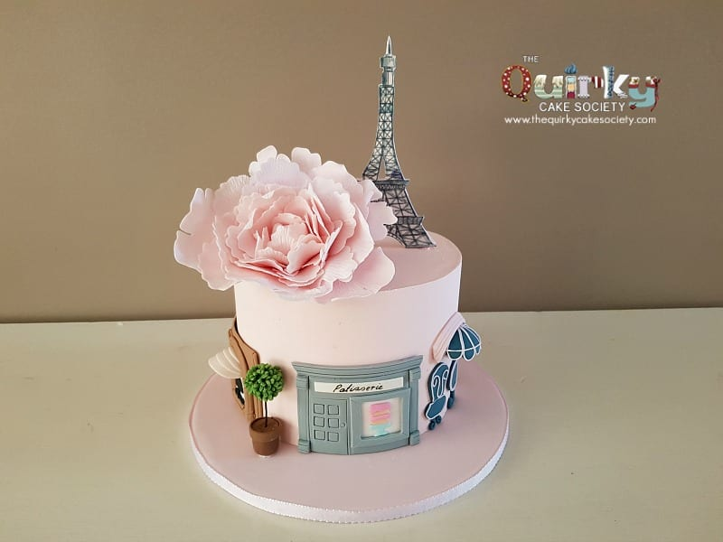 Paris Cake The Quirky Cake Society