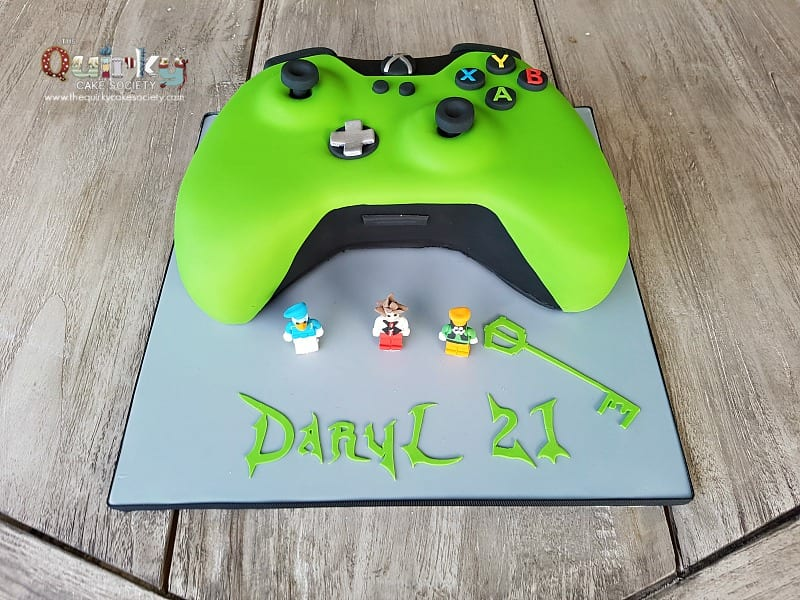 Video Game Controller Birthday Cake