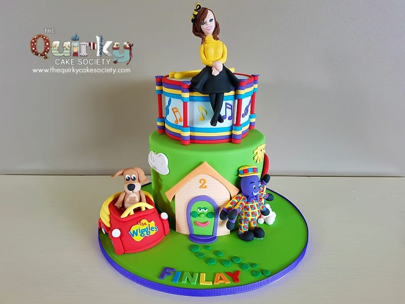 Wiggles Cake The Quirky Cake Society