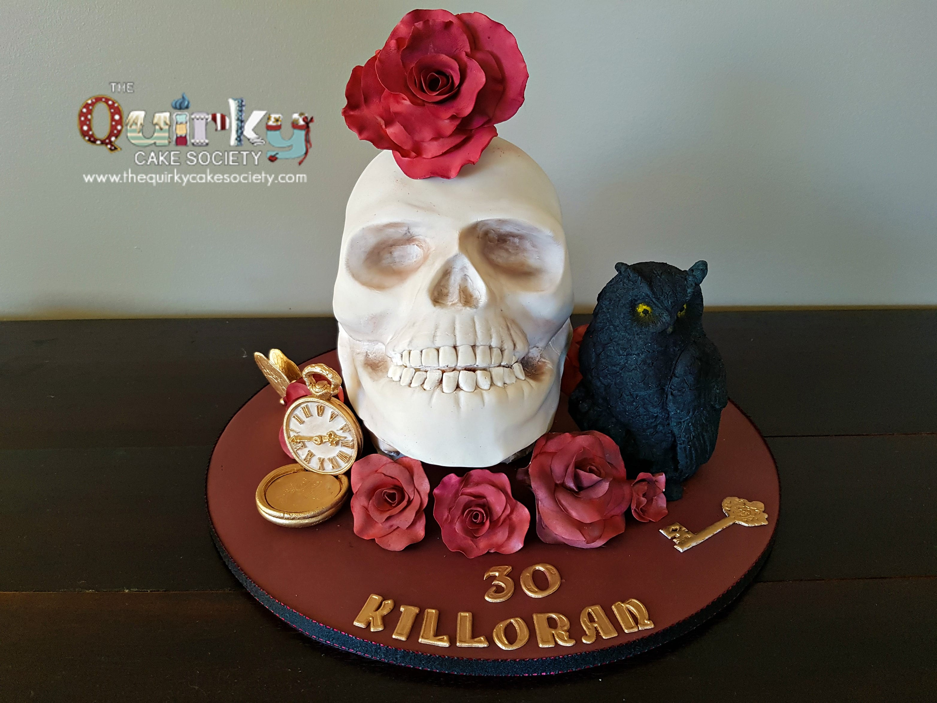Skull Cake The Quirky Cake Society