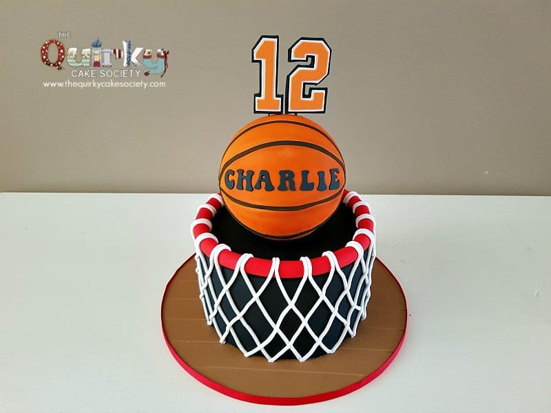 Basketball Hoop Cake The Quirky Cake Society