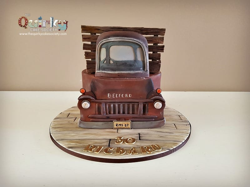 Bedford Truck Cake The Quirky Cake Society