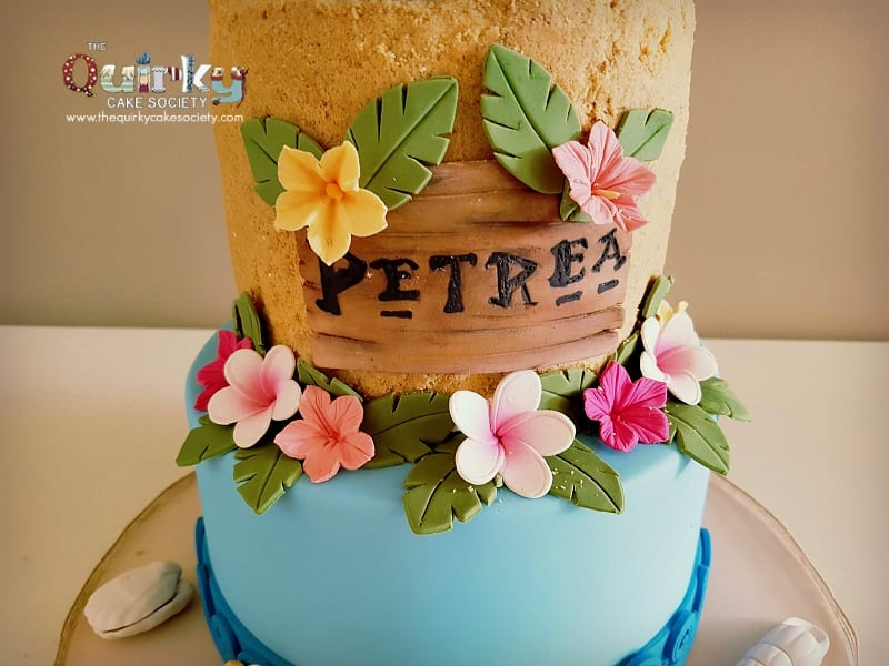 Moana Cake The Quirky Cake Society