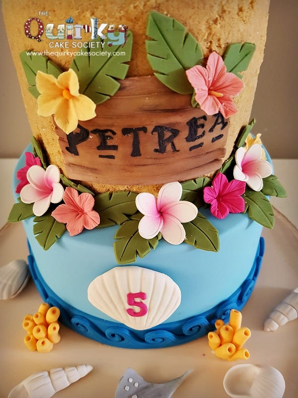 Birthday Cake Moana