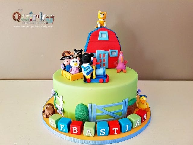 Timmy Time School House Cake