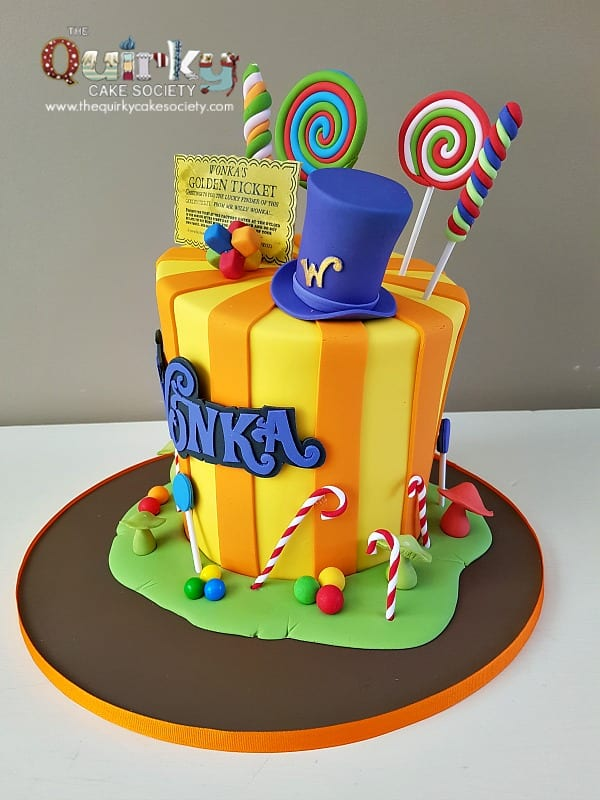 Willy Wonka Wedding Cake