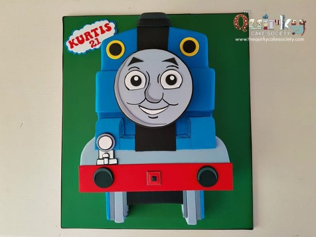 Thomas Tank Engine Front Cake