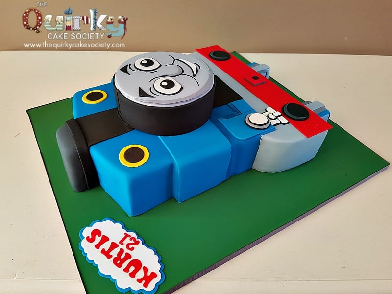 Thomas Tank Engine Front Cake The Quirky Cake Society