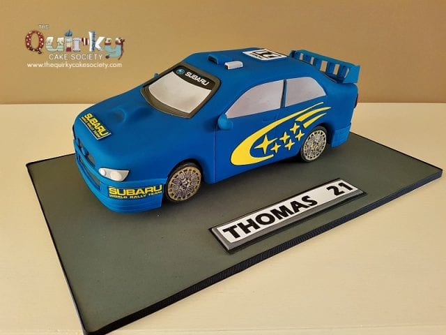Subaru Off Road Car Cake