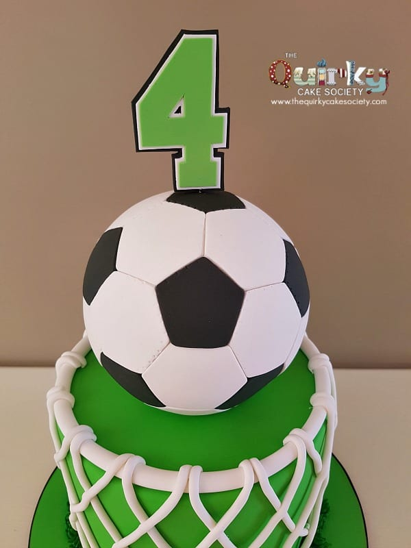 Soccer Ball Cake The Quirky Cake Society