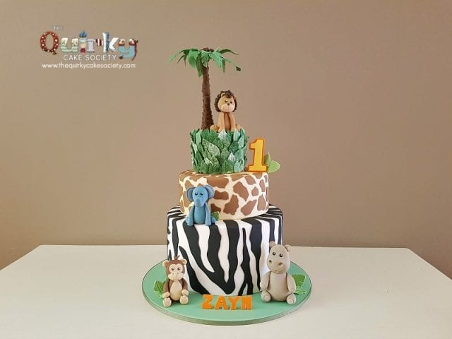 Jungle animal Cake