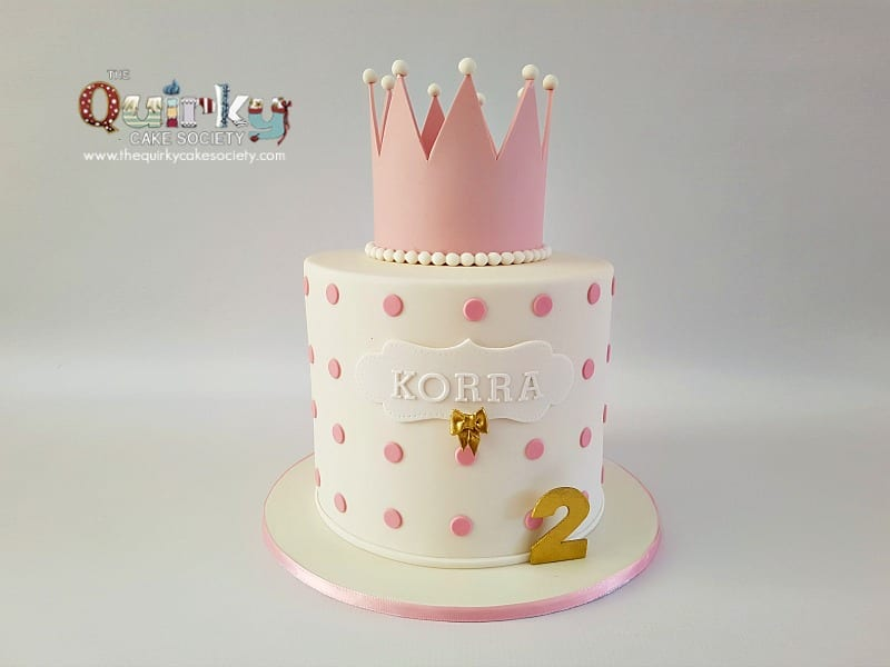 Princess Crown Cake The Quirky Cake Society